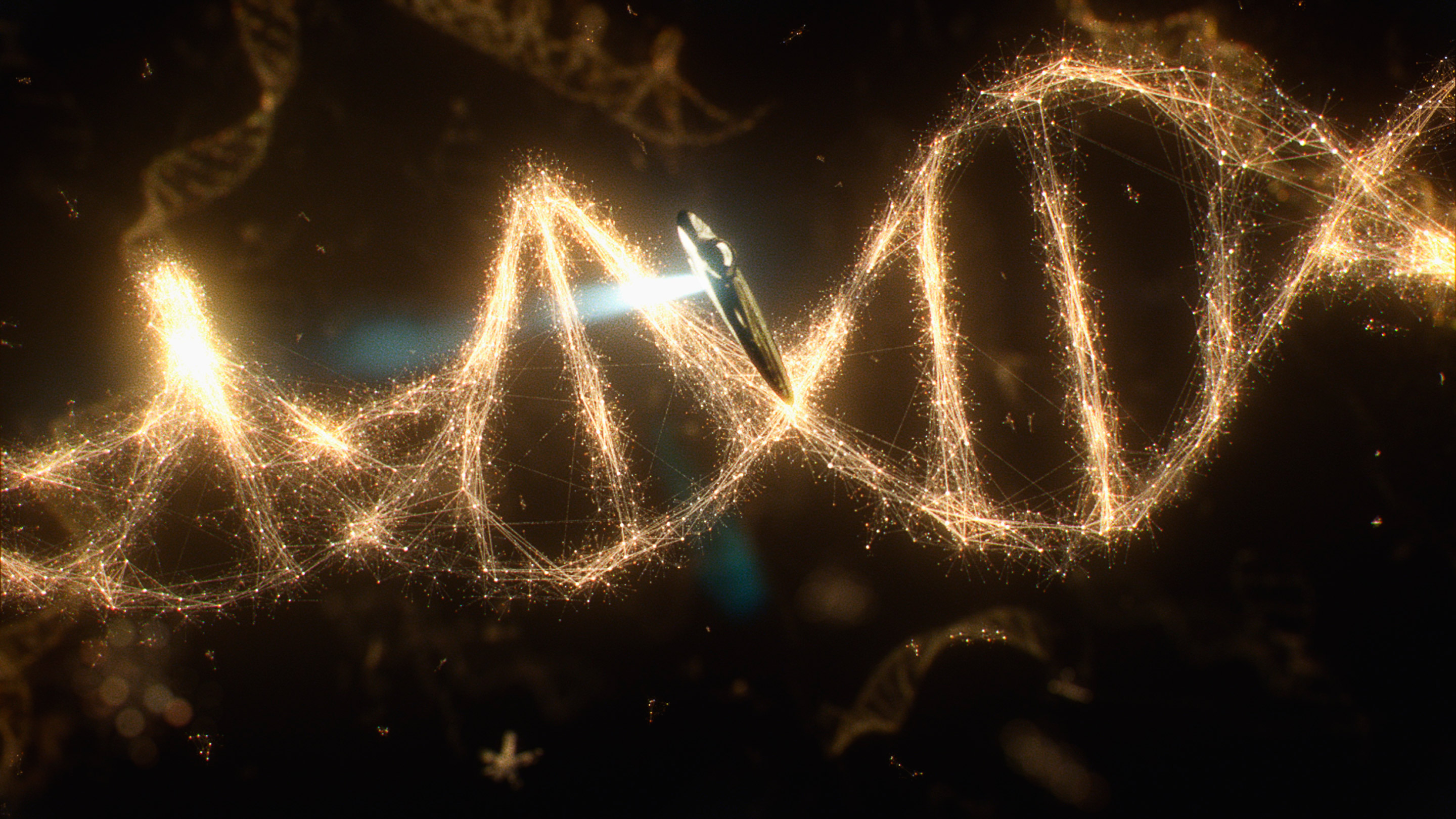 The relatedness of all living things and the possible evolution of life in the is explored in the second episode.  Image: Fox Broadcasting