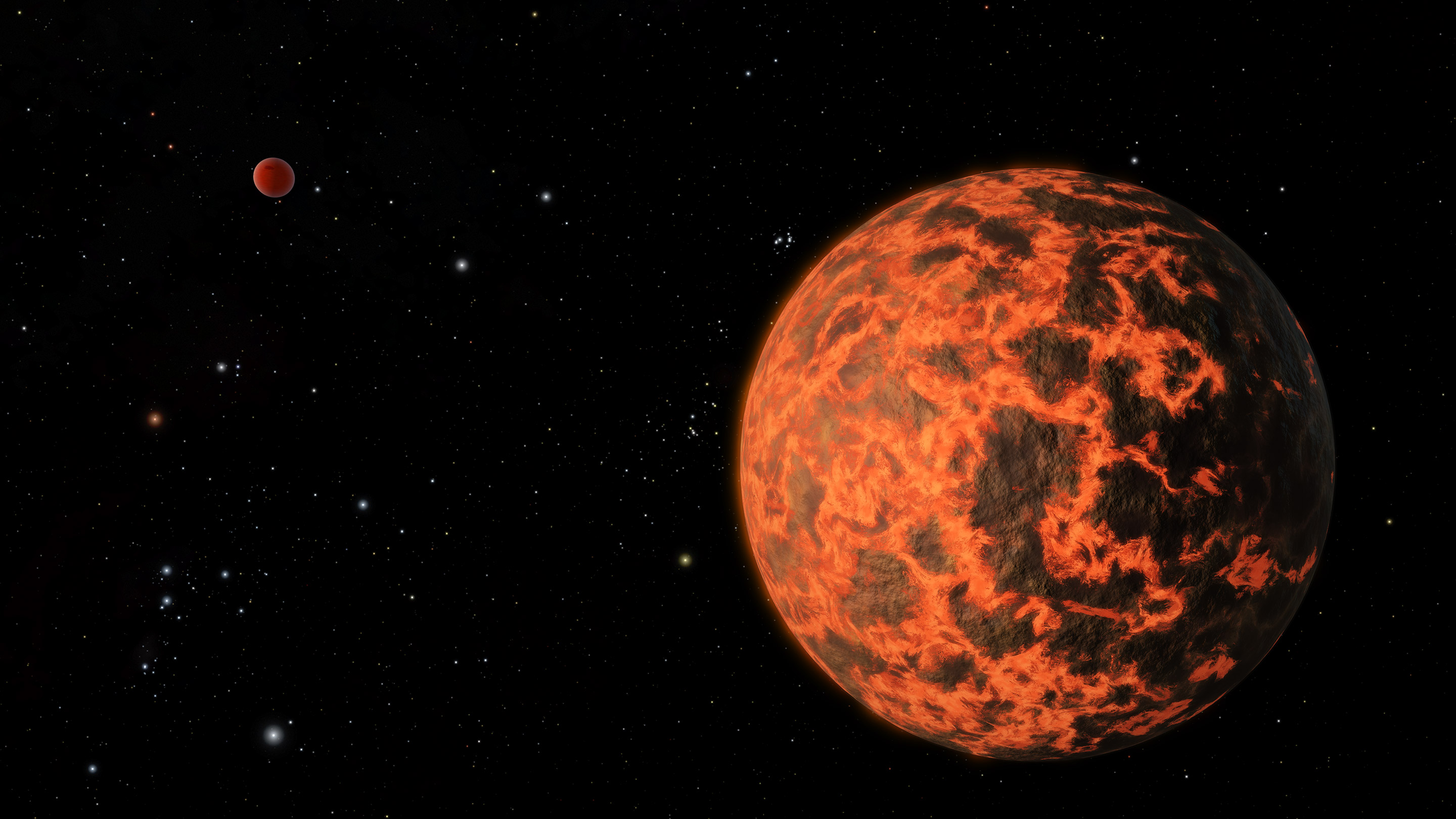 Astronomers using the Spitzer Space Telescope have detected an alien world just two-thirds the size of Earth. The exoplanet candidate, known as UCF-1.01, orbits a star called GJ 436, which is located 33 light-years away. Image: NASA/JPL-Caltech/R. Hurt (SSC)