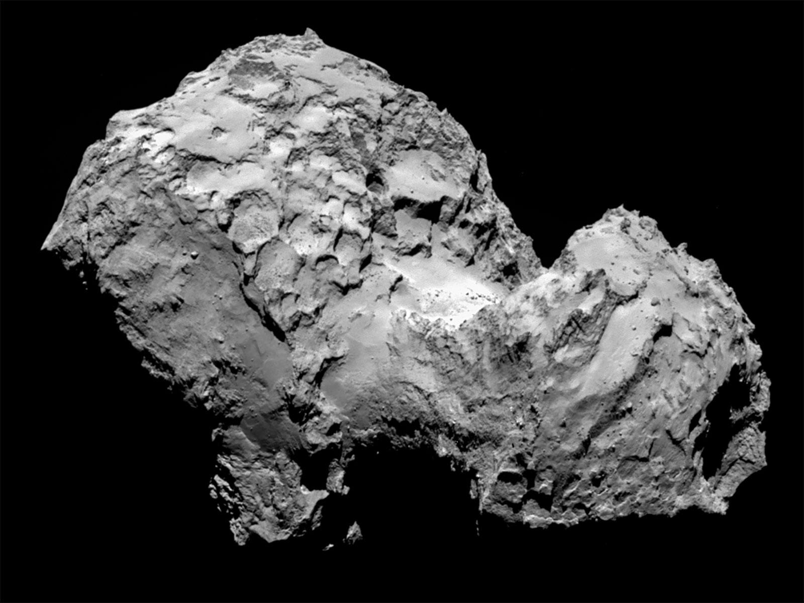 Credit: ESA/Rosetta/MPS for OSIRIS Team