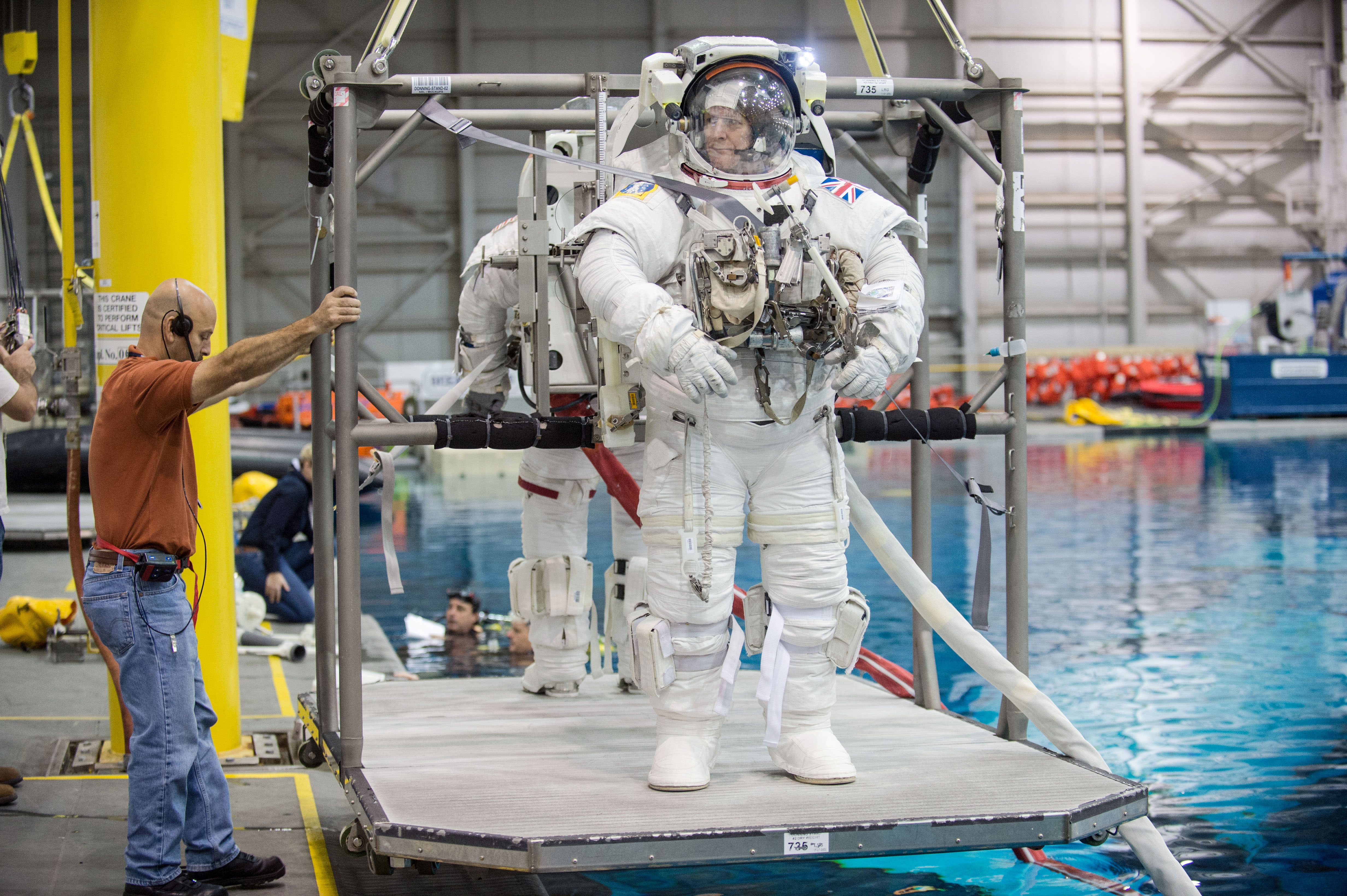 Tim Peake ready to become United Kingdom's official ISS ...