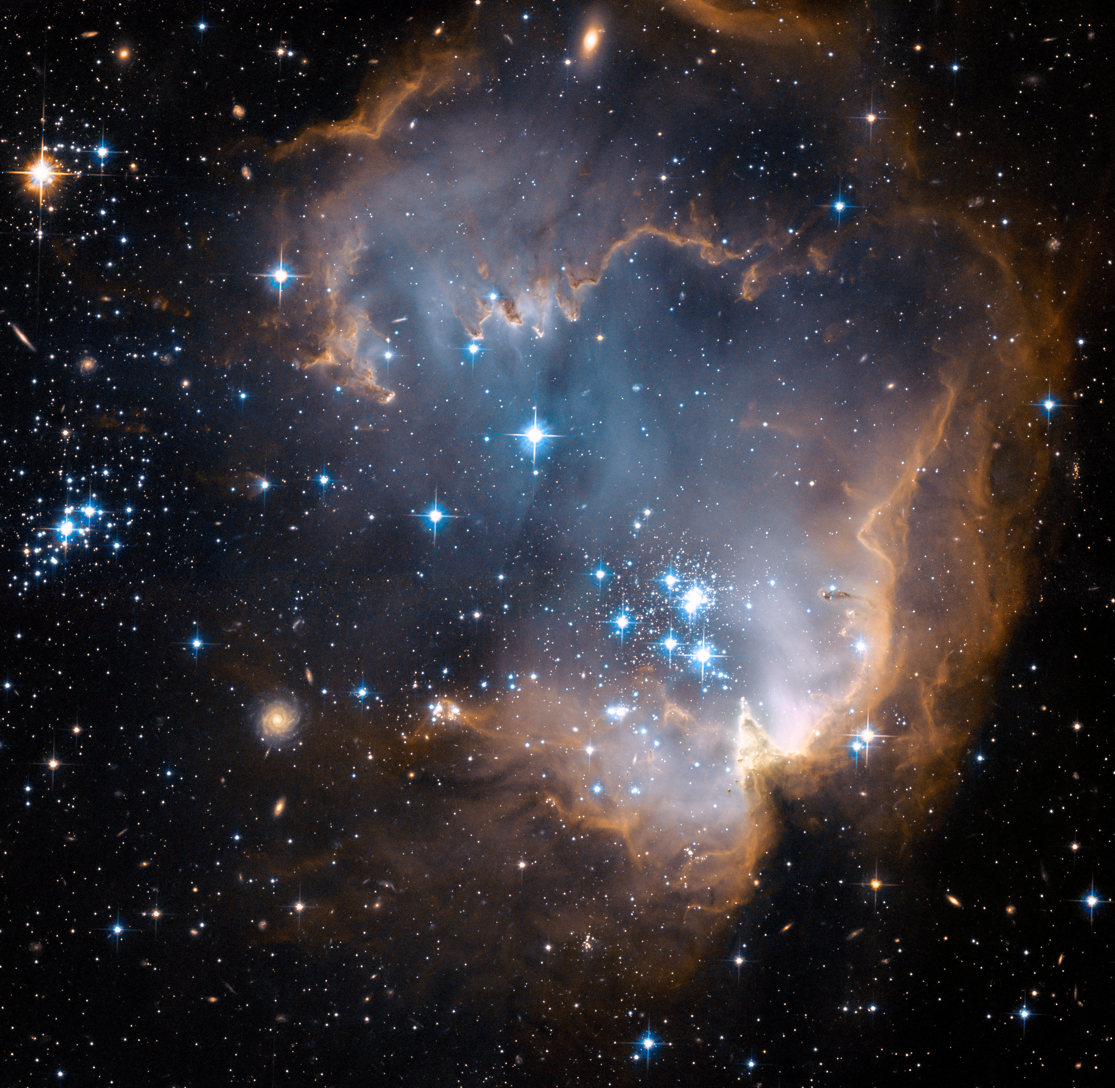 HUBBLE'S TOP 100 • #9 • Credit: NASA, ESA and the Hubble Heritage Team STScI/AURA)-ESA/Hubble Collaboration