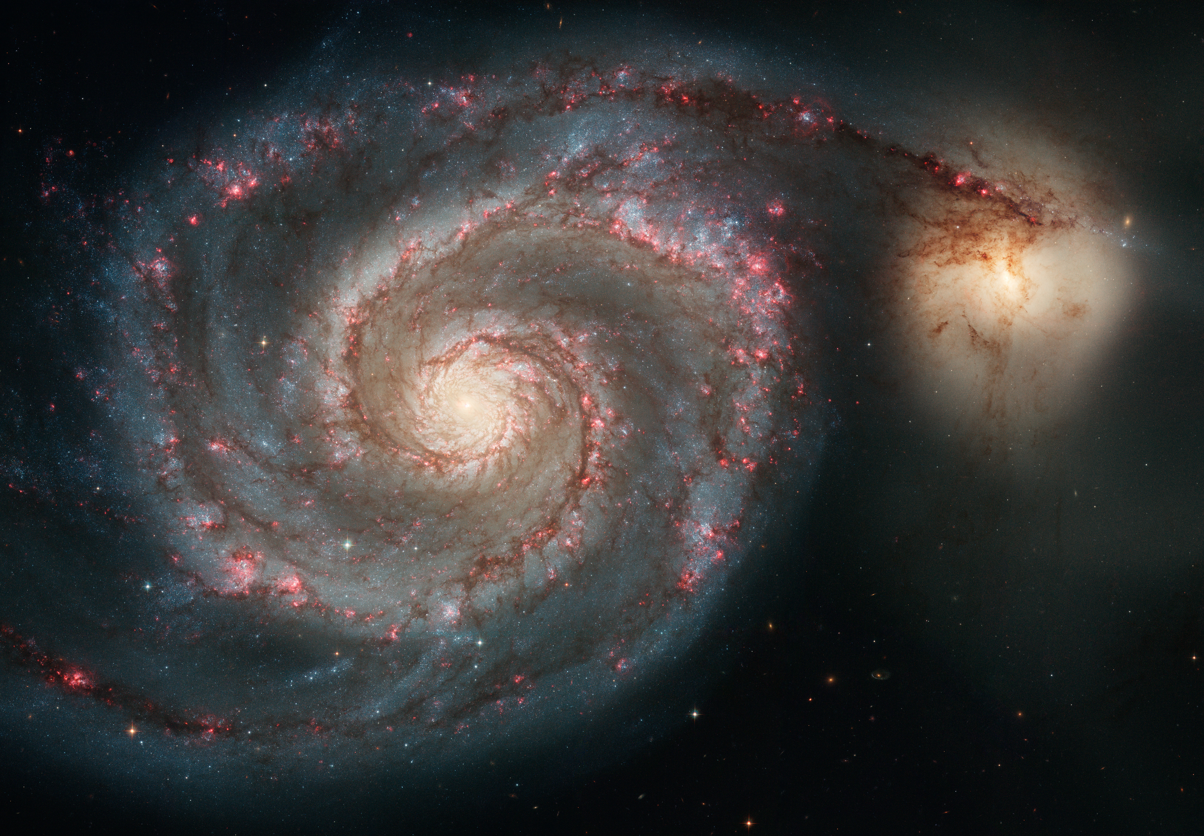 HUBBLE'S TOP 100 • #14 • Credit: NASA, ESA, S. Beckwith (STScI), and The Hubble Heritage Team STScI/AURA)