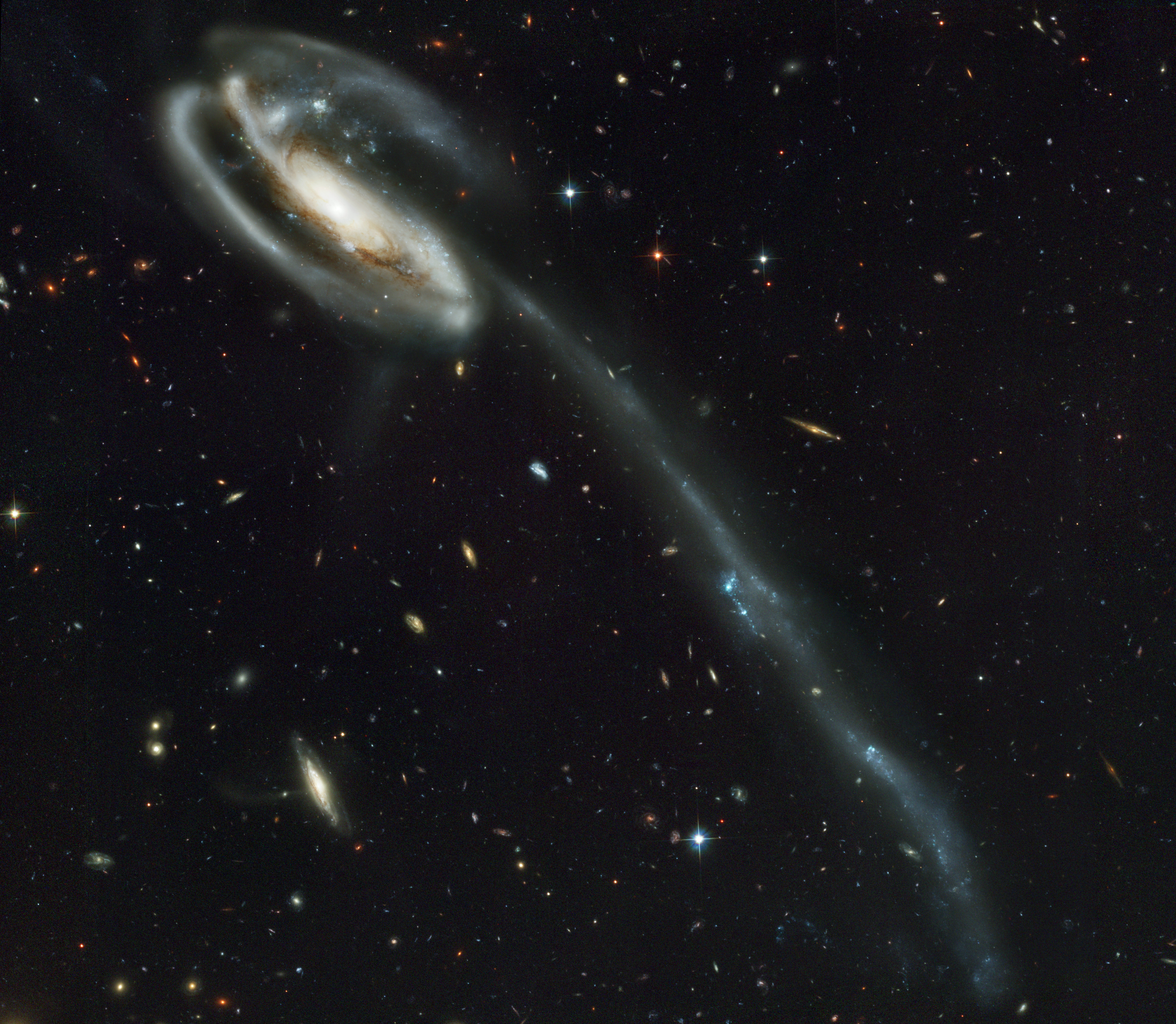 HUBBLE'S TOP 100 • #19 •Credit: NASA, Holland Ford (JHU), the ACS Science Team and ESA