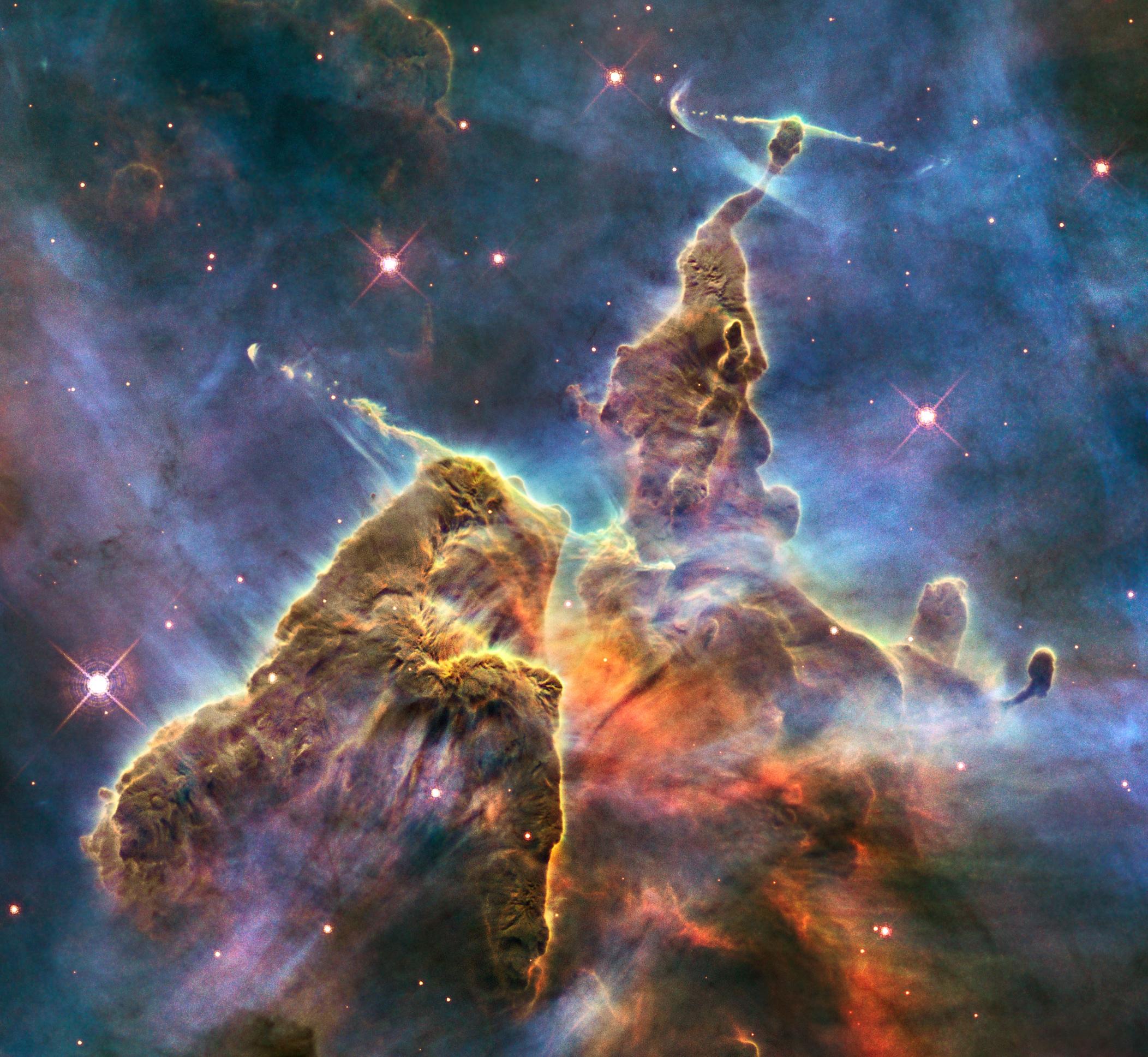 HUBBLE'S TOP 100 •#28 •Credit: NASA, ESA, M. Livio and the Hubble 20th Anniversary Team (STScI)