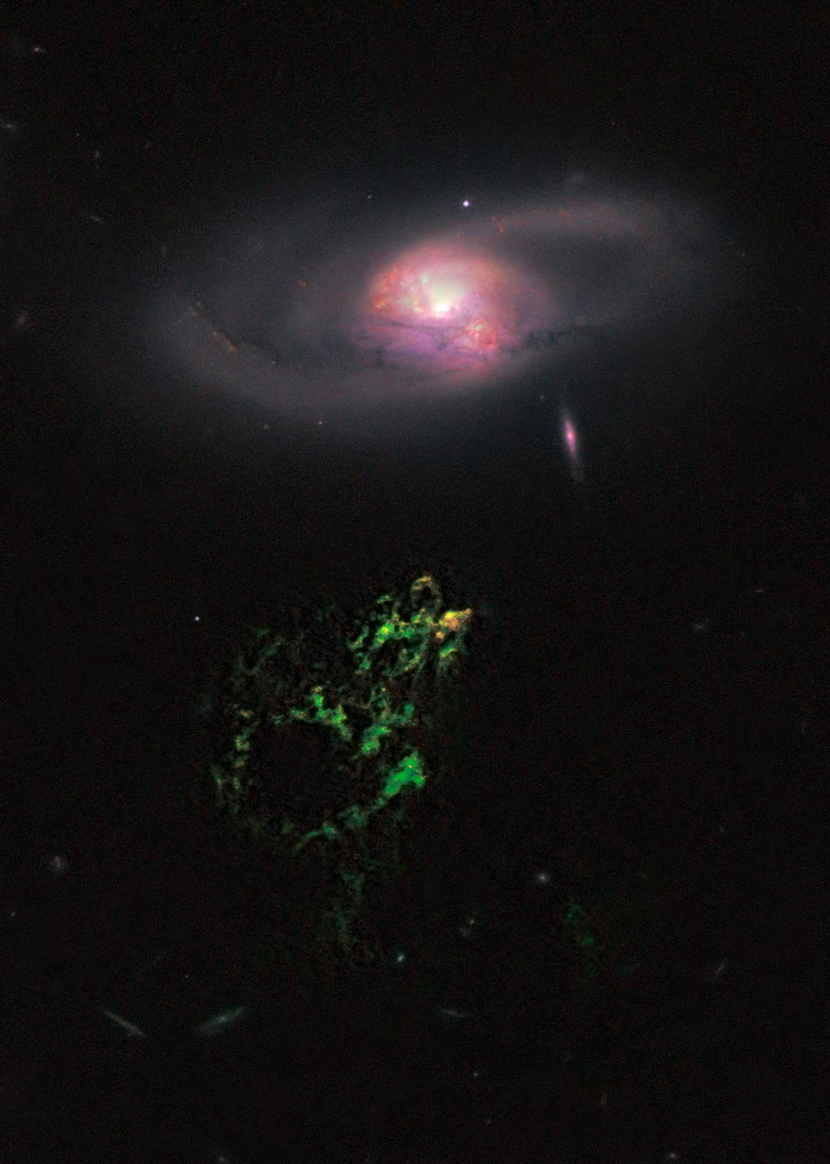 HUBBLE'S TOP 100 • #94 • Credit: NASA, ESA, William Keel (University of Alabama, Tuscaloosa), and the Galaxy Zoo team