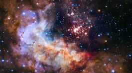 HUBBLE'S OFFICIAL 25th ANNIVERSARY IMAGE •Credit: NASA, ESA, the Hubble Heritage Team (STScI/AURA), A. Nota (ESA/STScI), and the Westerlund 2 Science Team.