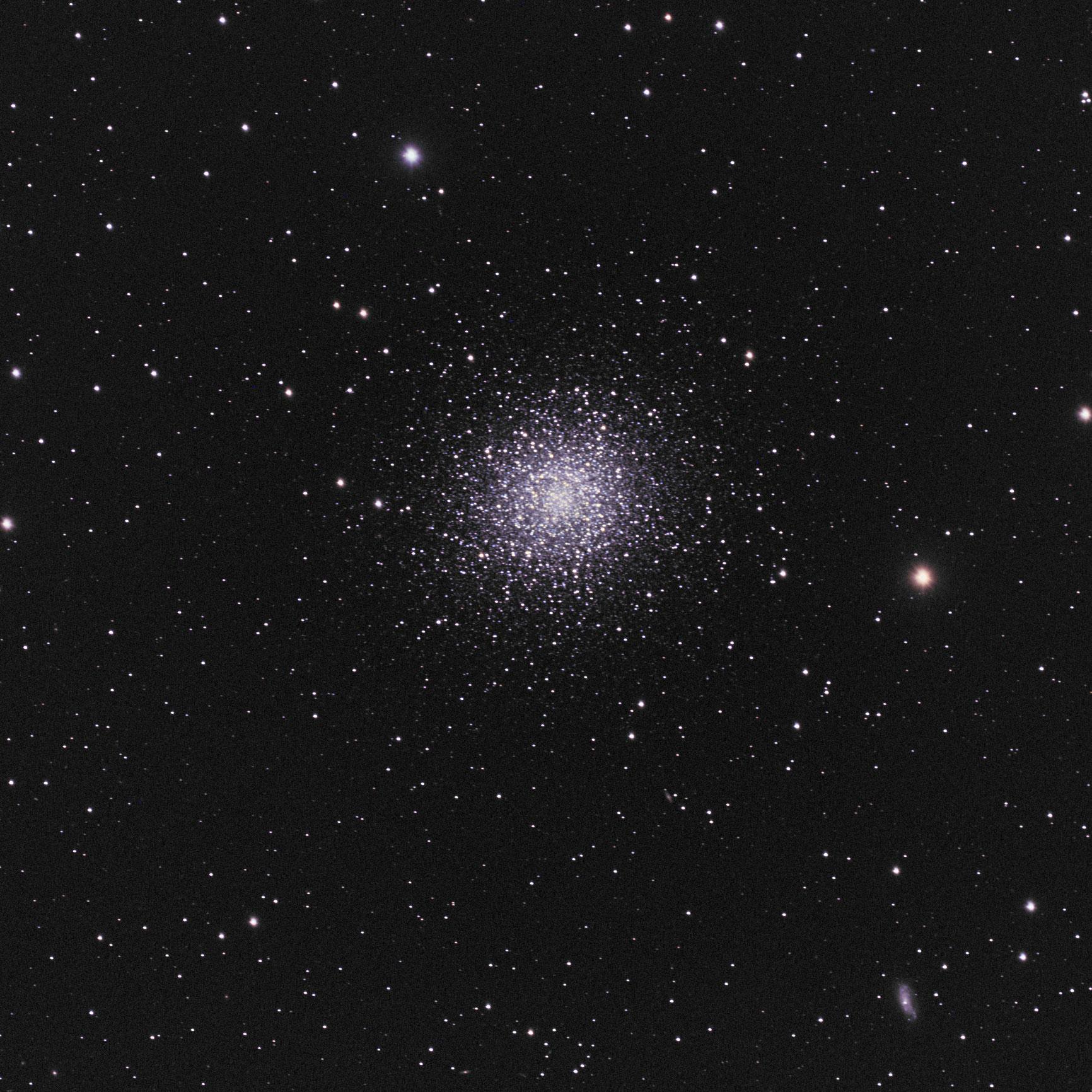 M13, the Great Globular Cluster in Hercules Credit: Mike Barrett