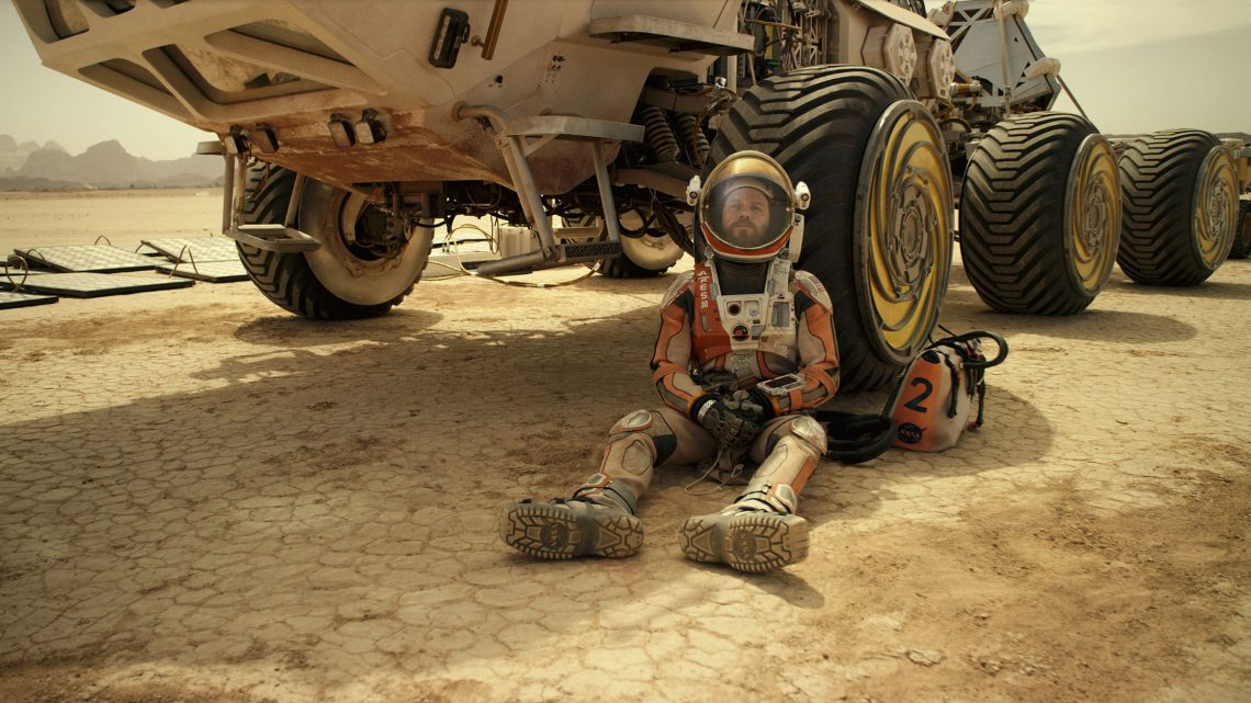 Astronaut Mark Watney faces seemingly insurmountable odds as he tries to subsist on Mars and find a way back home to Earth. Credit: Twentieth Century Fox Film Corporation