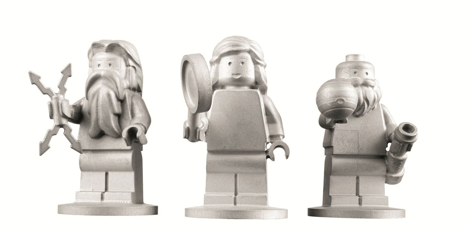 The Lego minifigs of Jupiter, Juno and Galileo that were placed on the Juno spacecraft. Credit: Lego
