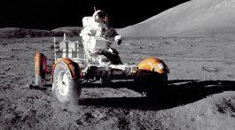 Photo taken by Cernan and Schmitt during their three EVAs to explore the Moon. Credit: NASA
