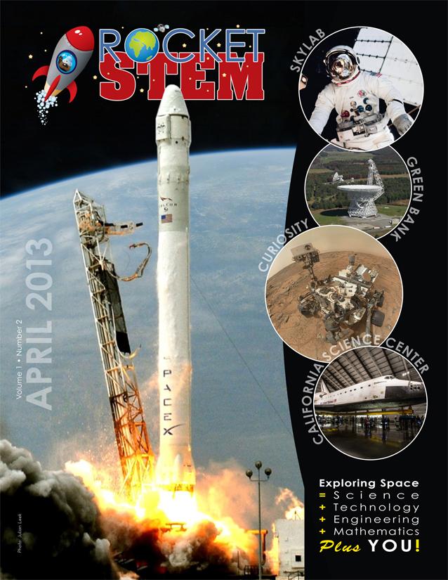 RocketSTEM #2 Cover