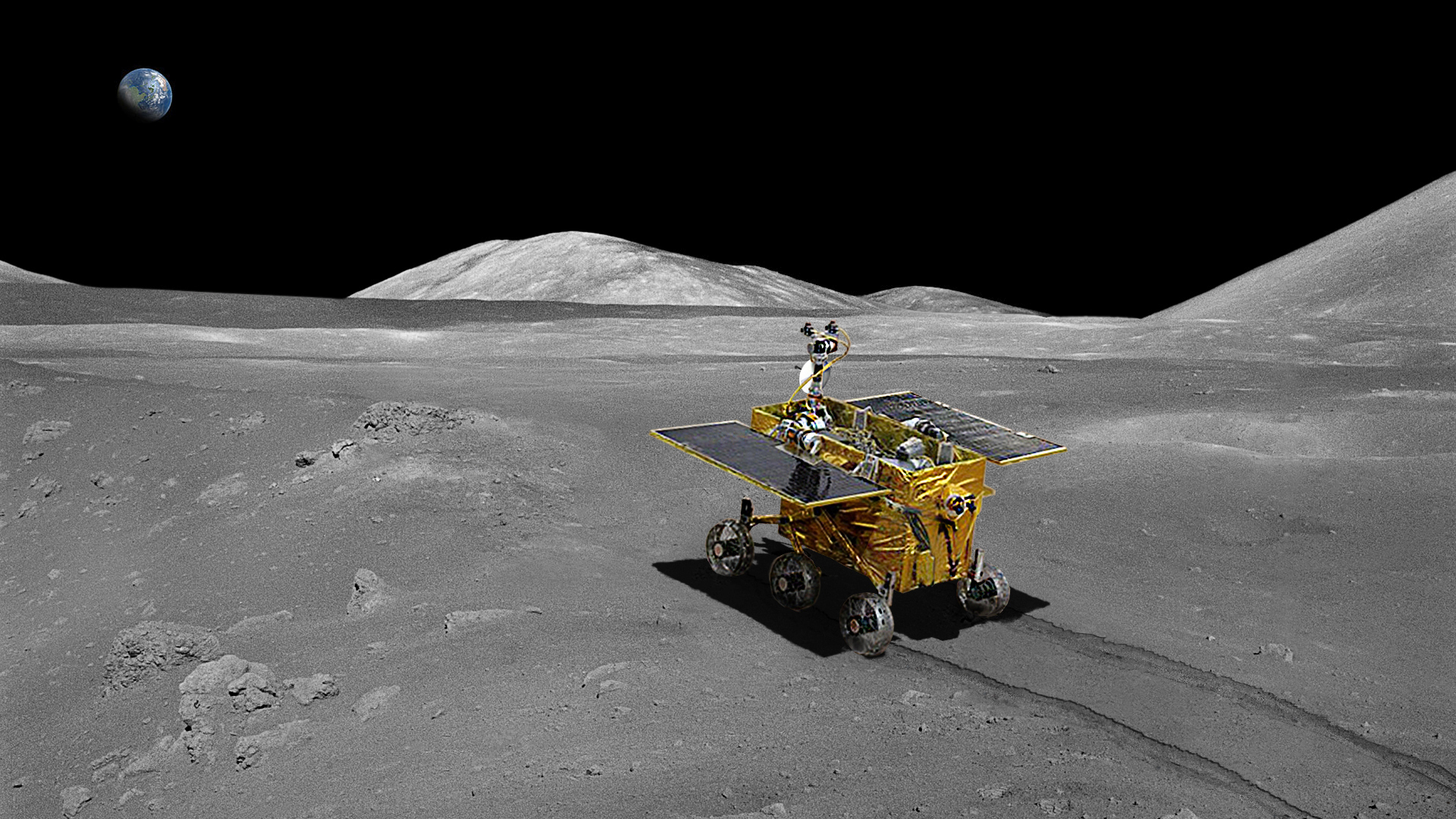 China lands Yutu rover on the Moon - RocketSTEM