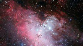 M16, the Eagle Nebula, captured in RGB.  Credit: ESO