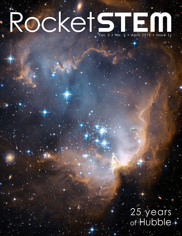 RocketSTEM april 2015 front cover