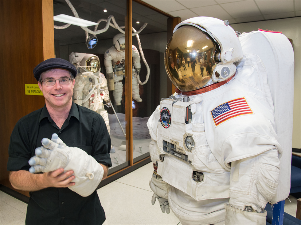 Is Weir suited for space? He seems to think so. Credit: NASA/James Blair and Lauren Harnett