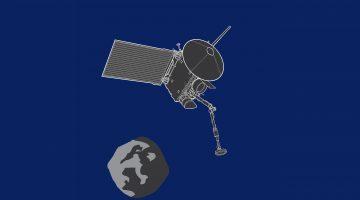 Artist's illustration of the OSIRIS-REx spacecraft. Credit: Sebastian Kings